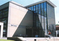 foto of the Unicenter at the University of Linz the congress venue